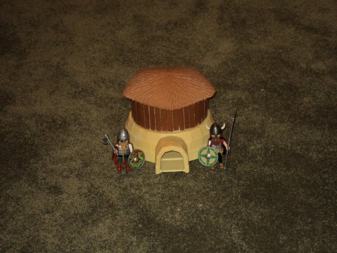 Playmobil Dark Age Hut5