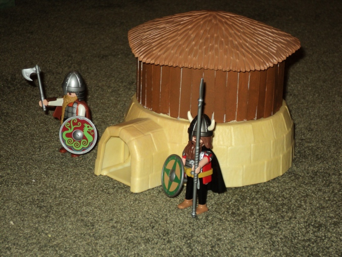 Playmobil Custom Dark Age Hut