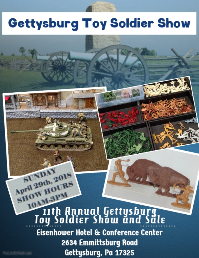 Gettysburg Toy Soldier Show
