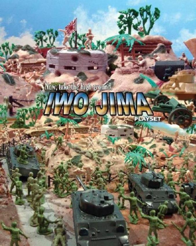 Classic Toy Soldiers Iwo Jima Playset
