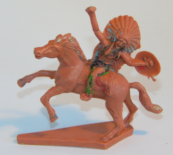 Mounted Indian