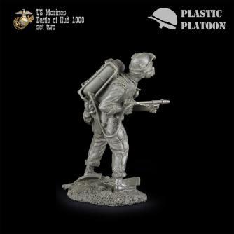Plastic Platoon Marines Set 2k