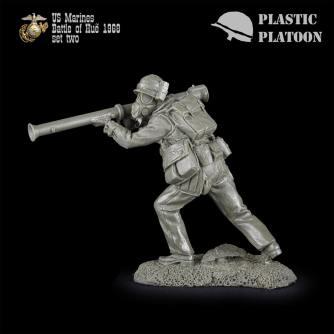 Plastic Platoon Marines Set 2l