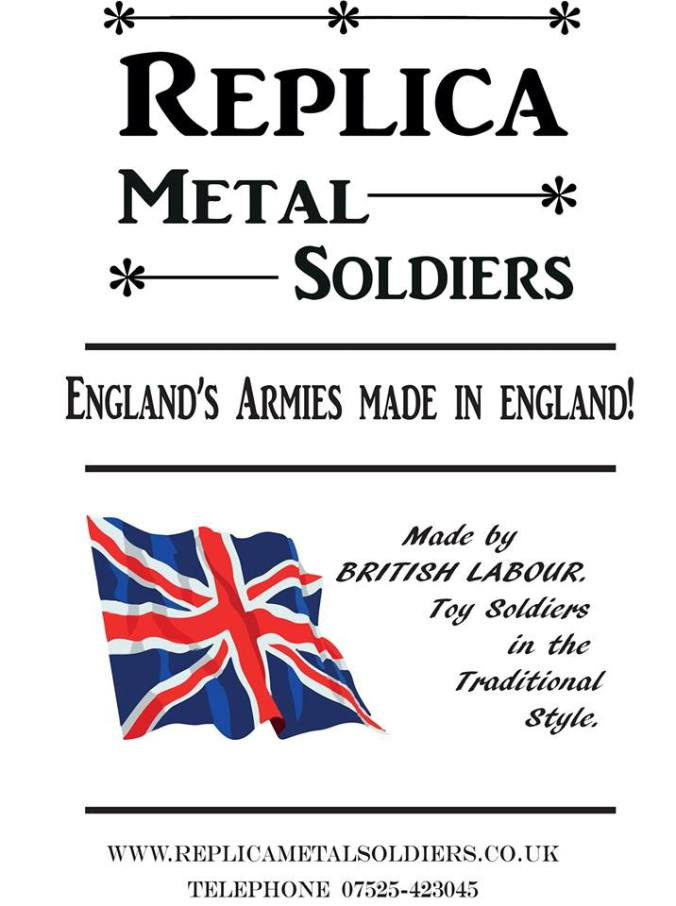 Replica Metal Soldiers