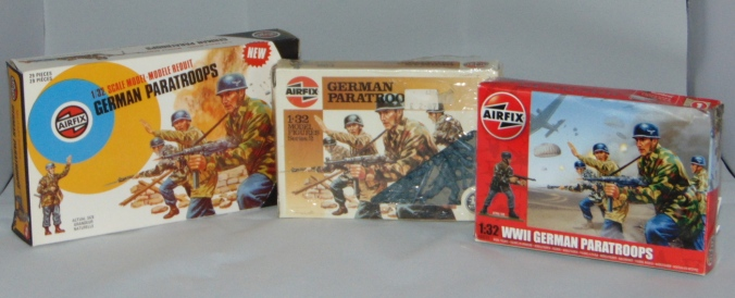 Airfix German Paratroops