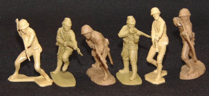 WWII Japanese Toy Soldiers