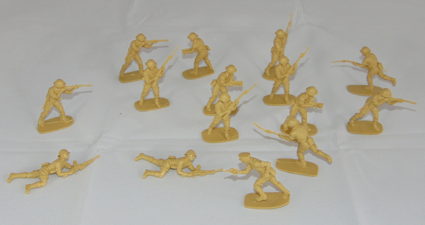 Lot Airfix British 8th Army