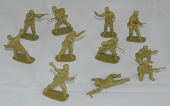 Lot Airfix British Commandos