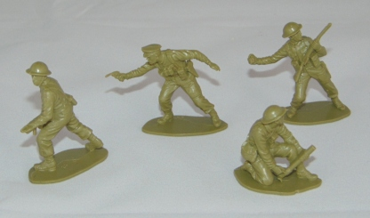 Lot Airfix British Infantry