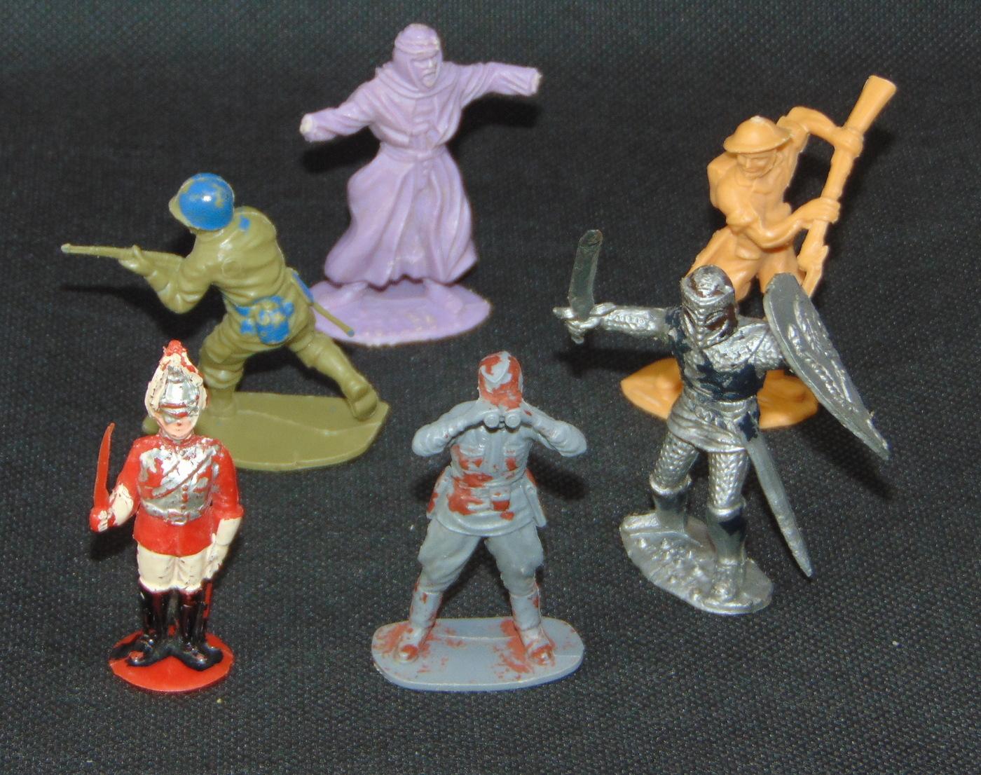 Vintage Plastic Figures