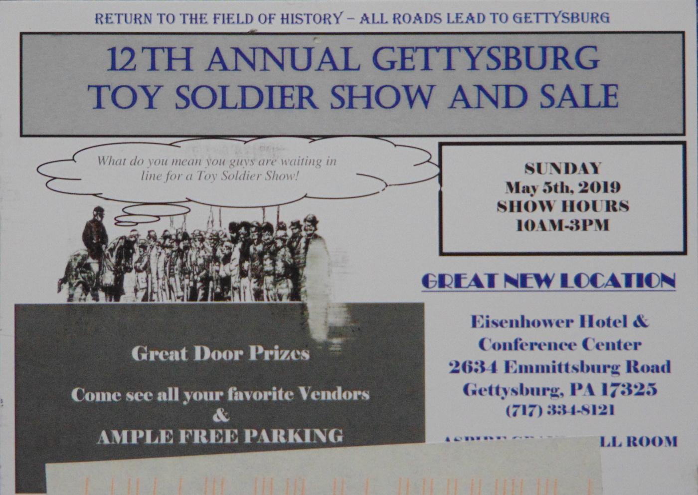 Gettysburg Toy Soldier Show 2019