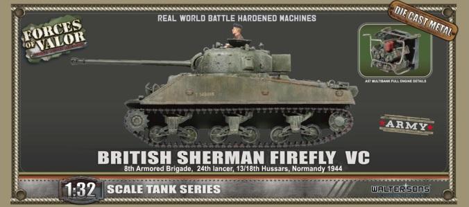FOV British Sherman Firefly VC