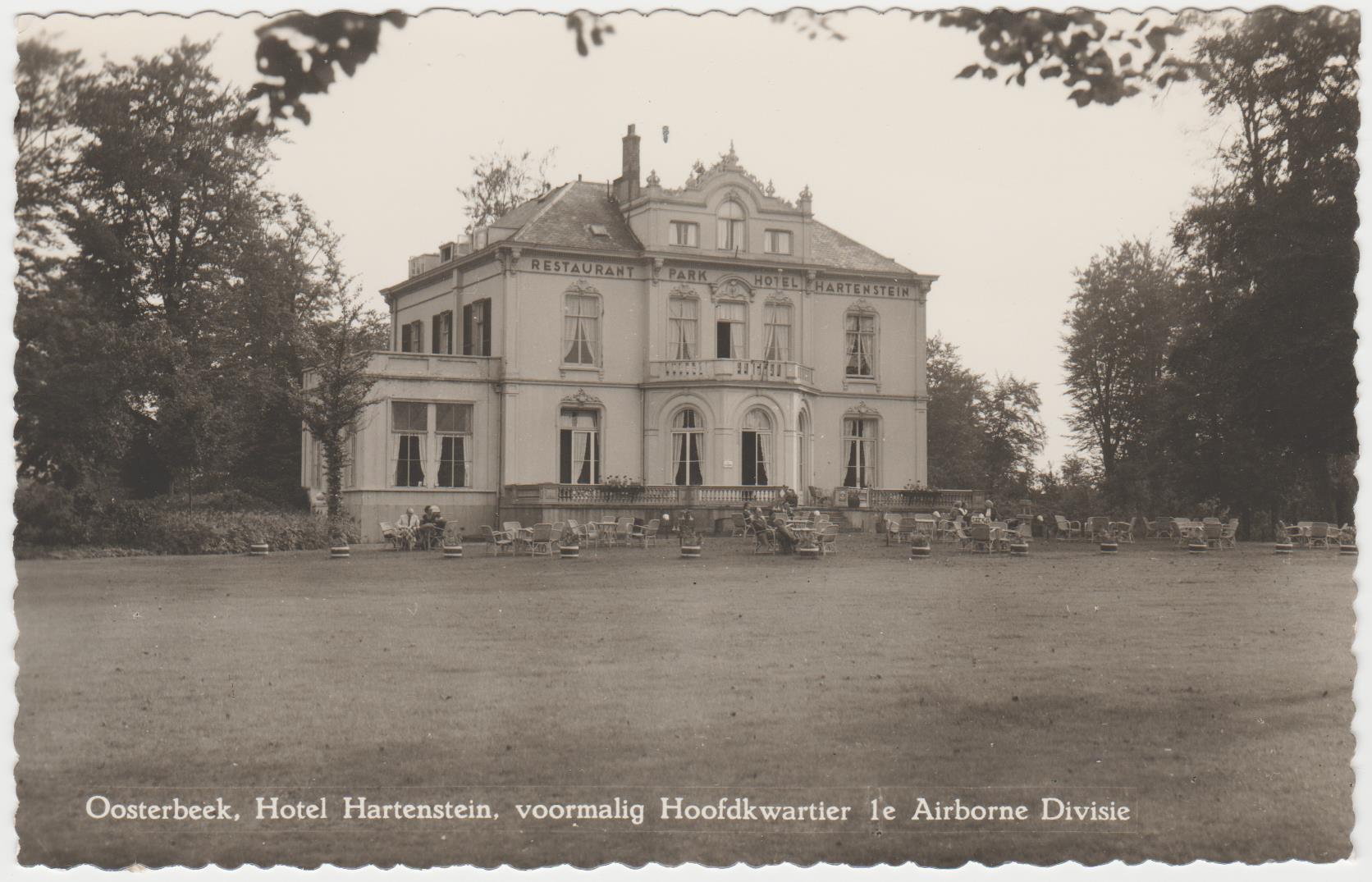 Oosterbeek Hotel Hartenstein