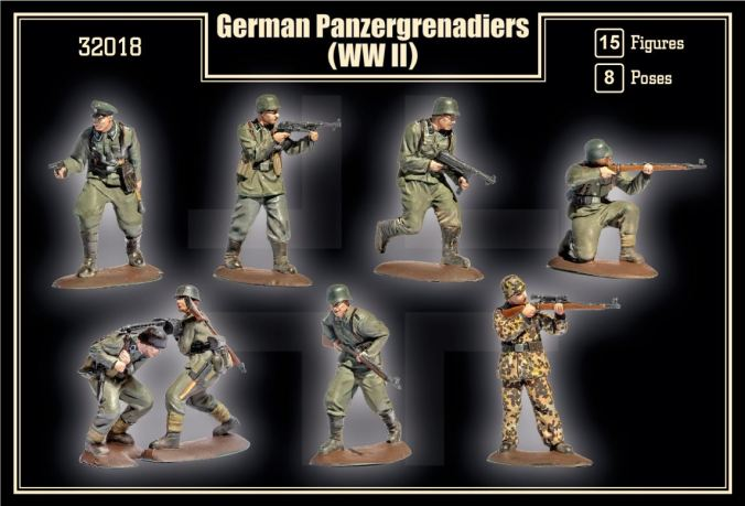 Mars Panzergrenadiers Box Back