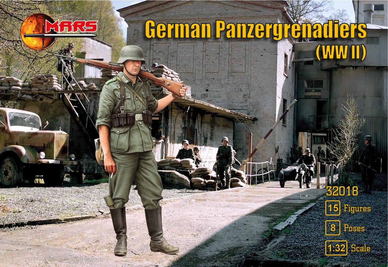 Mars Panzergrenadiers Box Front