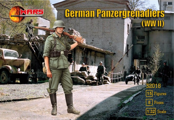 Mars Panzergrenadiers Box Front