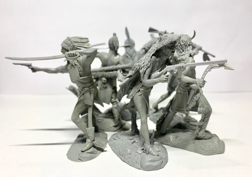 Plastic Platoon Indians7
