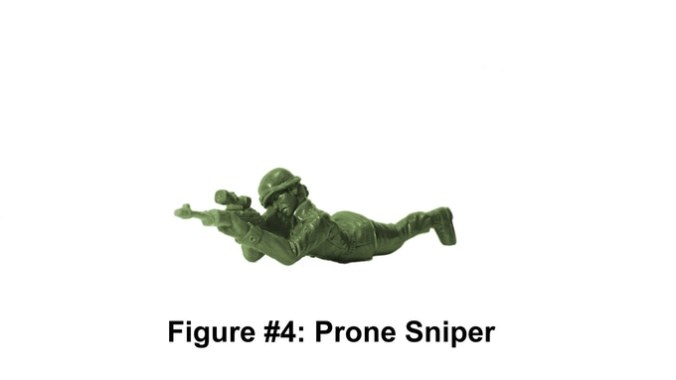 Army Women Prone Sniper