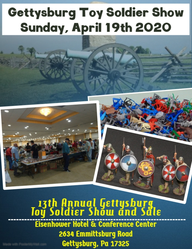 Gettysburg Toy Soldier Show 2020