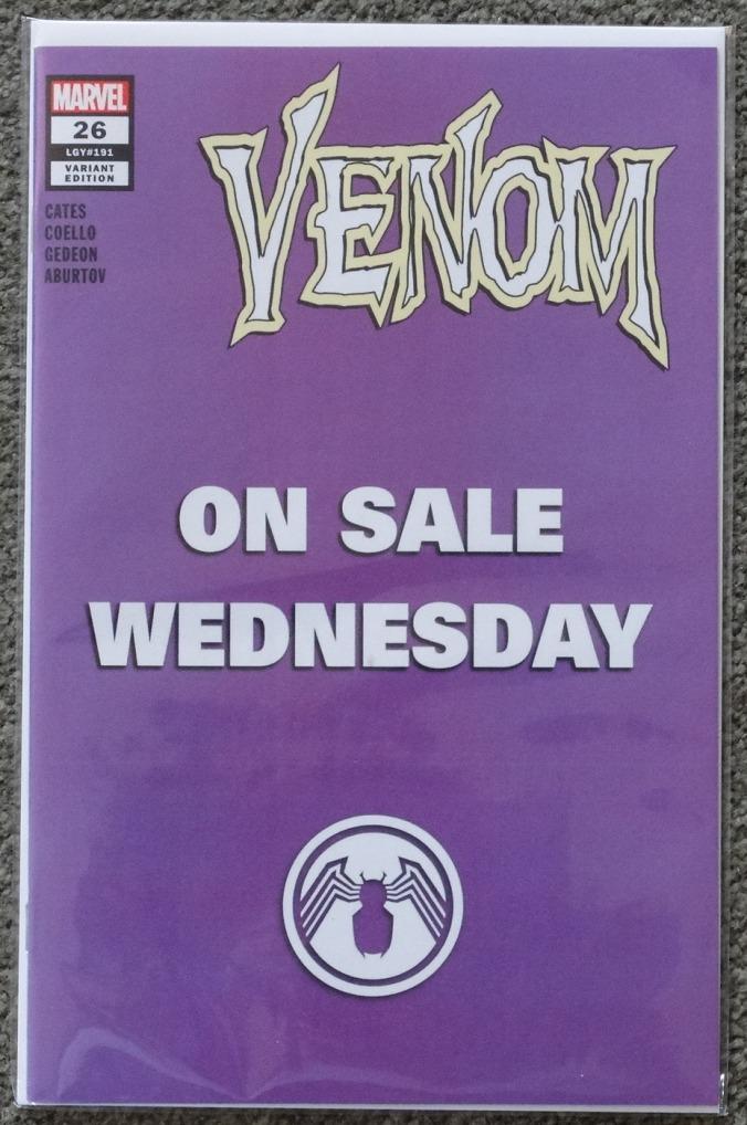 Venom 26 Wed